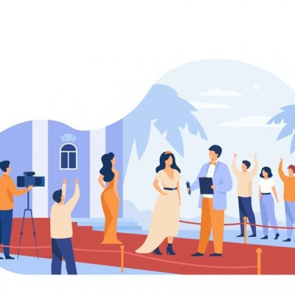 celebrities-walking-along-red-carpet-isolated-flat-vector-illustration-cartoon-famous-people-posing-paparazzi-camera_74855-8276